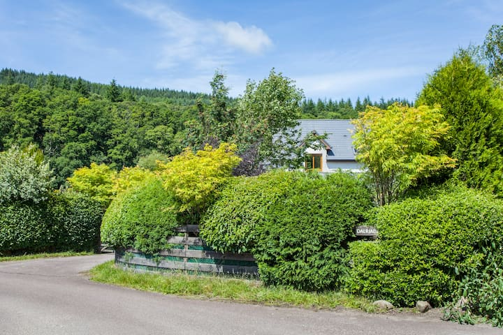 Perfectly situated retreat with stunning gardens - Lochgilphead - Casa