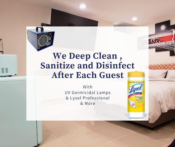 Sanitized Home In Briarwood NY | Near Subway & JFK