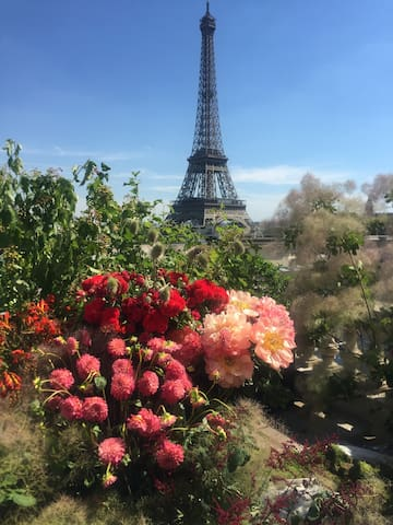 lovely flat close to Eiffel Tower 埃菲尔铁塔附近温馨两居室 - Paris - Appartement