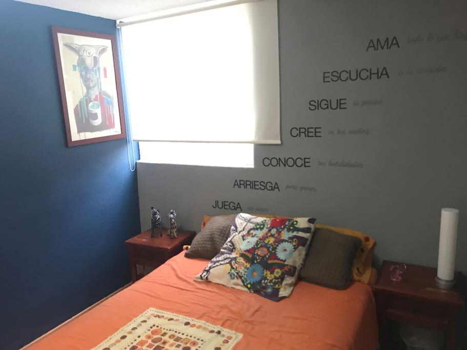 Habitacion privada / prívate bedroom