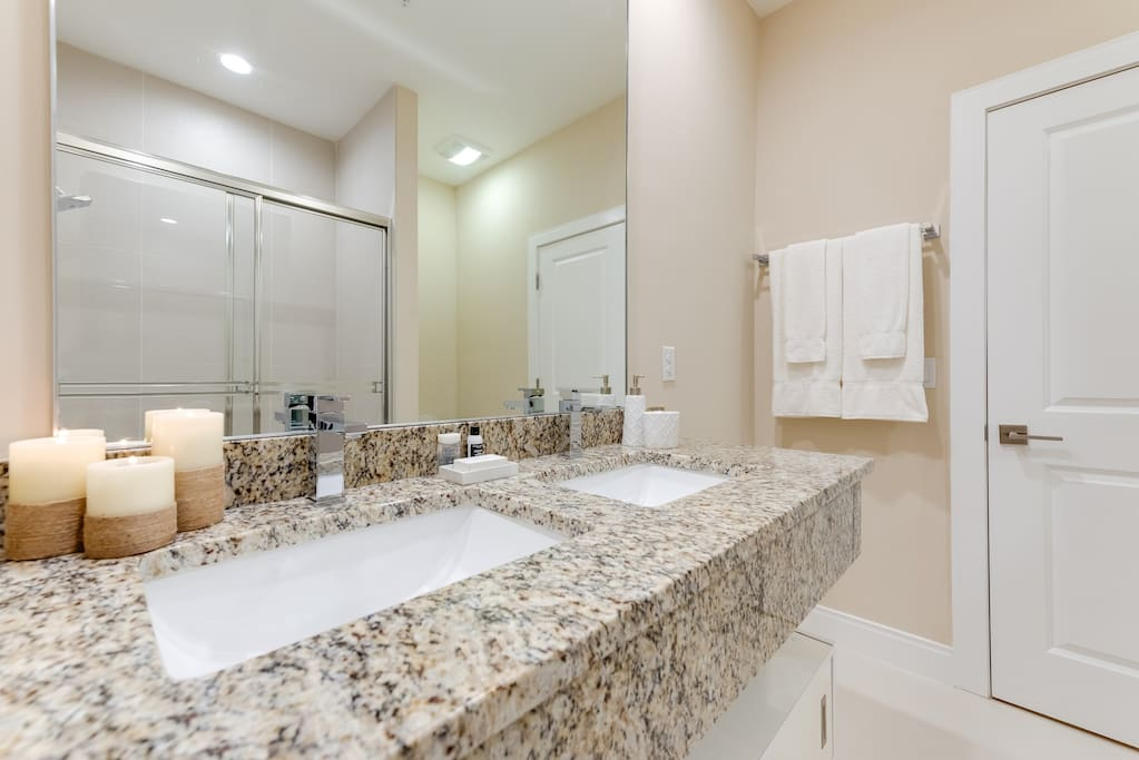 One of the 4.5 bathrooms