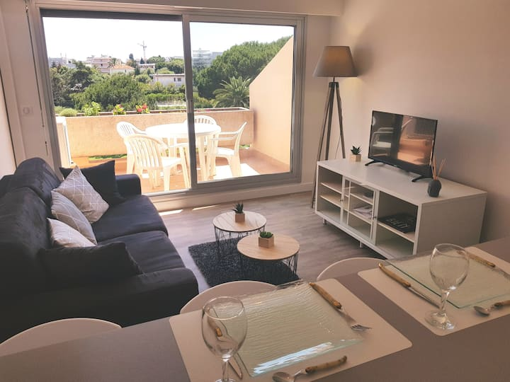 BRAND NEW RENOVATED FLAT WITH SWIMMING POOL