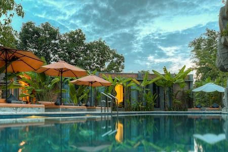 Laysung Double Room Pool View-Free Pick up - Krong Siem Reap - Lakás