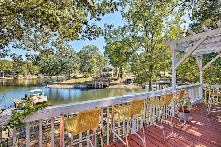 Waterfront Home on Badin Lake w/ Large Deck!