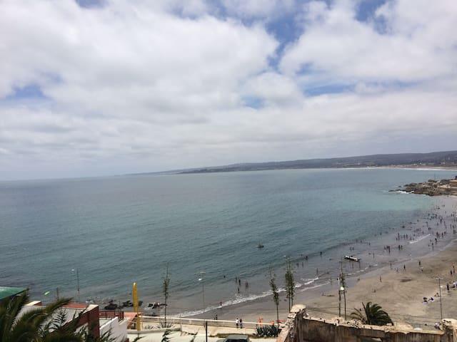 Casa con magnífica vista al oceano
