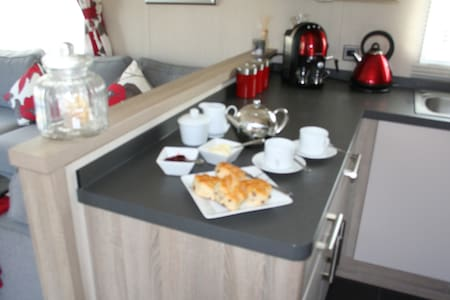 Robins Nest, Beach Side Chalet - Cornwall - Alpstuga