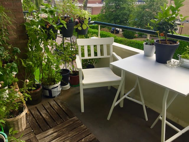 Room in bright 2 bedroom apartment in Kralingen - Rotterdam - Huoneisto