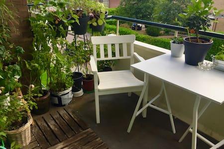 Room in bright 2 bedroom apartment in Kralingen - Rotterdam - Appartement