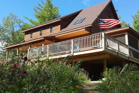 Schroon Lakeside house, Adirondacks, near Gore Mtn - Schroon Lake - Rumah