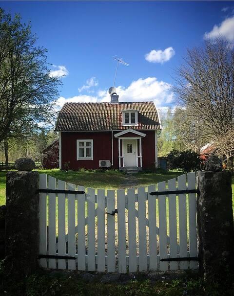 De herfst is mooi hier in Zuid Småland!