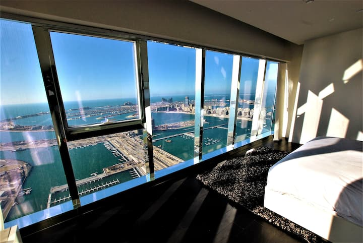 Top floor luxury penthouse Best Sea views in Dubai