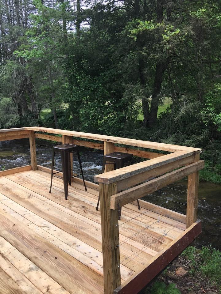 #5 - Riverside CAMPING Cabin Getaway