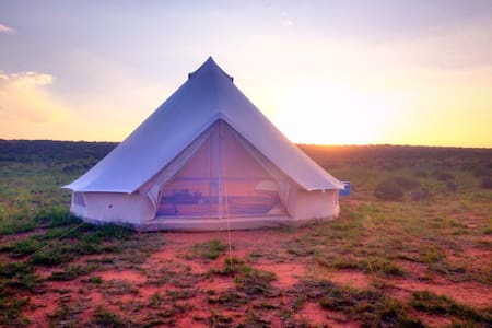 Bell Tent Glamping on Navajoland