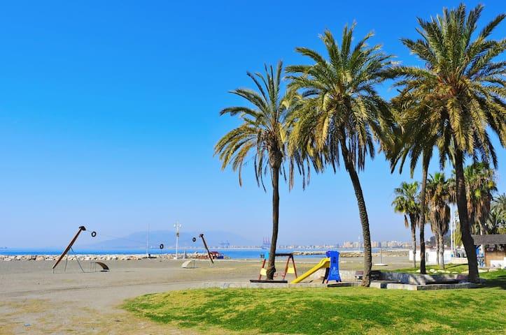 Piso de 2 habitaciones a 2 minutos de la playa