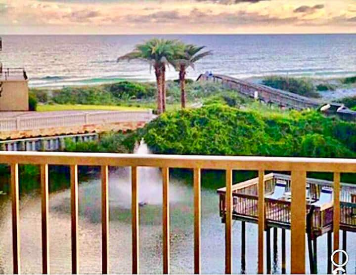 Gulf front luxury Hwy 30-a. Discounted rate 6/8wk