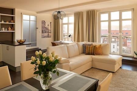 LUXURY LOFT WITH AMAZING VIEWS FROM TERRACE - Prag - Loft