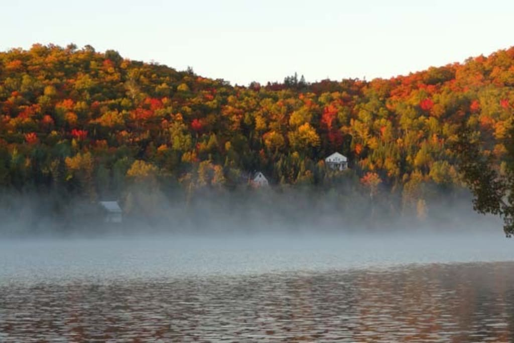 Lac Gémont in the fall