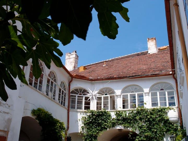 Großzügige Gästewohnung im Orgelbauerhaus