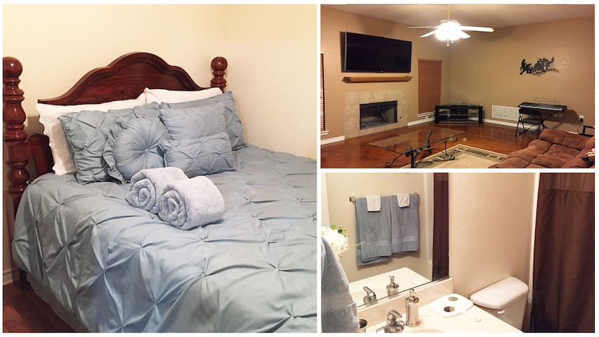 Amenities Galore Near I-35/UNT/TWU! - Denton