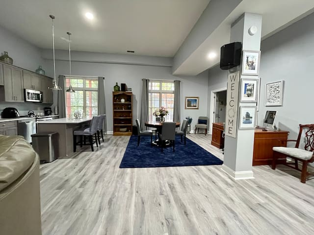 1200 square feet lower level living space