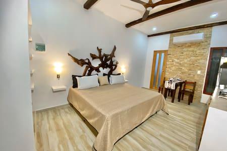 Loft luxury at Casita Maya