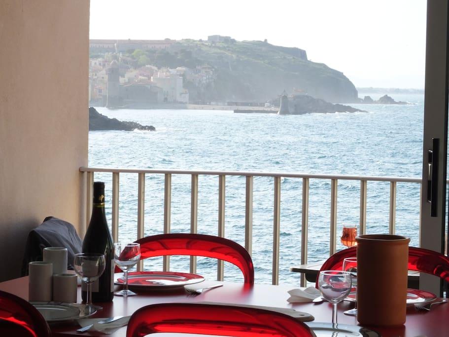 Views Towards Collioure