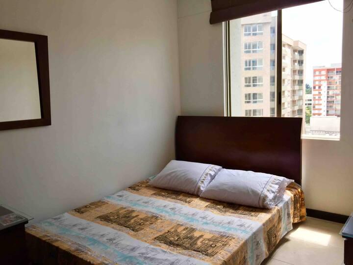 Comfortable room on 10th floor with good ventilati