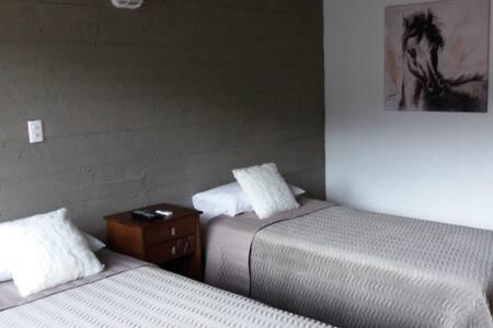 Habitación doble con baño en suite - Concepción - Loft