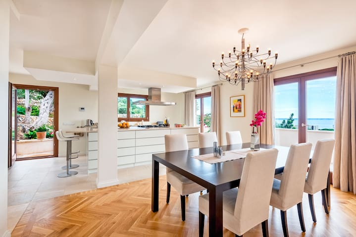 Dining Table and kitchen island