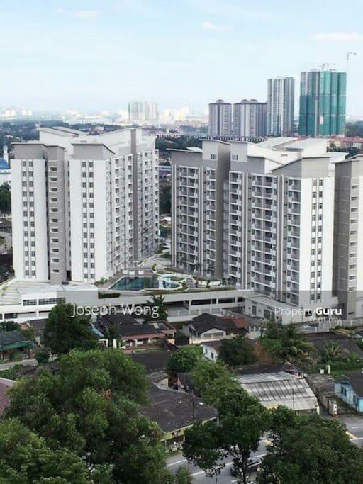 new build condominium @Larkin area