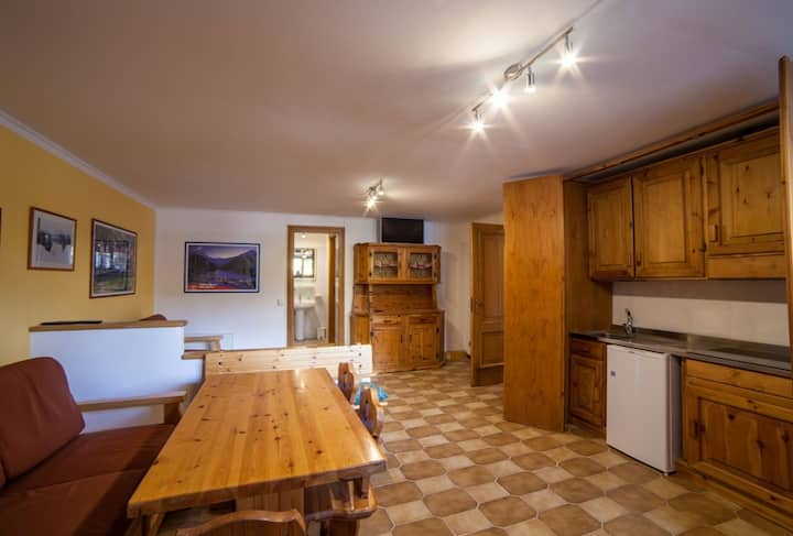 Delightful apartment in Residence Cervinia