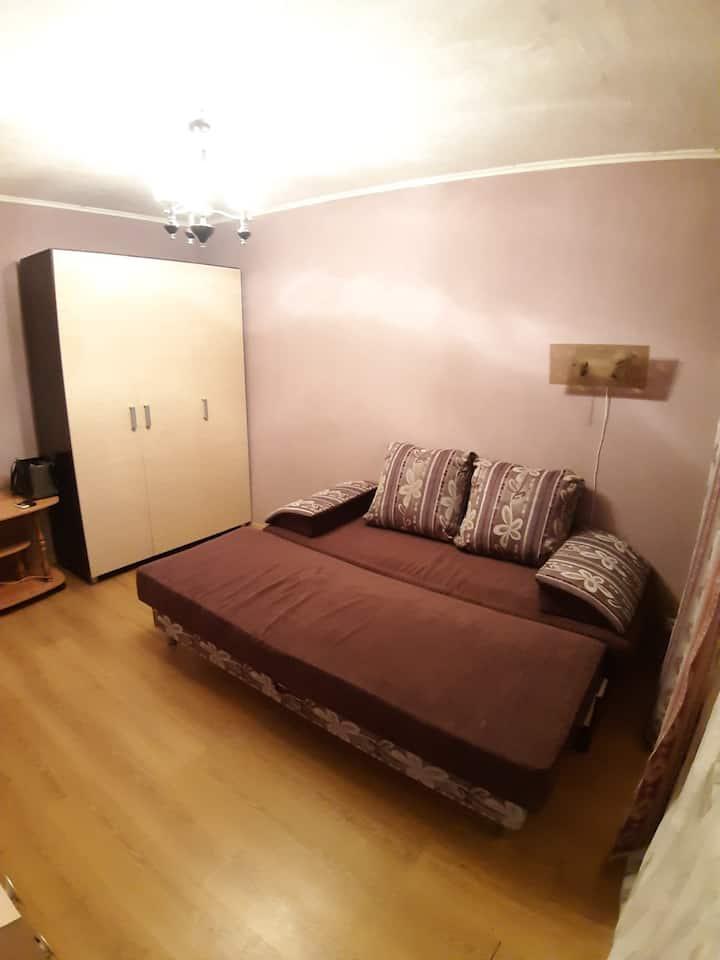 Очень уютная Миниатюрная и недорогая 1ком квартира
