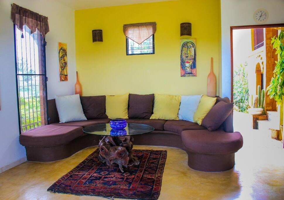 Comfortable living area.