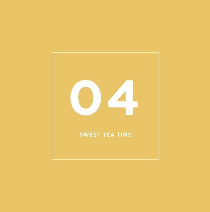 Sweet Tea Time . Thong Lo