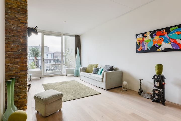 Waterland family apartment (2 adults, WATERVIEW!) - Amsterdam - Apartment