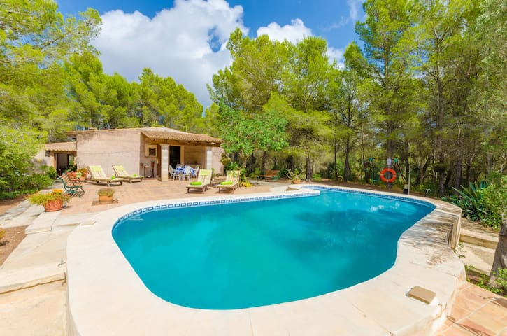 CASA MAS - Villa with private pool in Felantix.