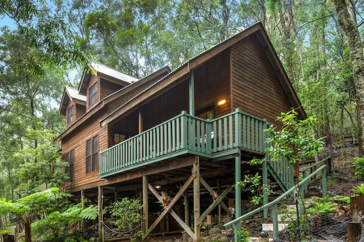 Treetops-Comfy cabin in World Heritage Wilderness