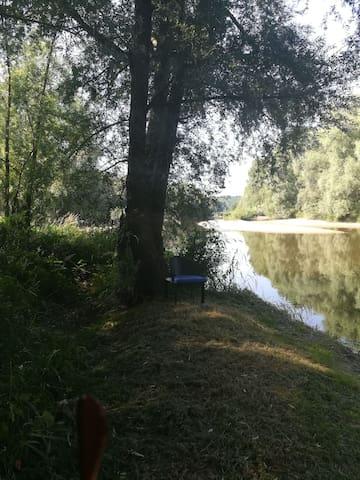coin pêche au bout du jardin