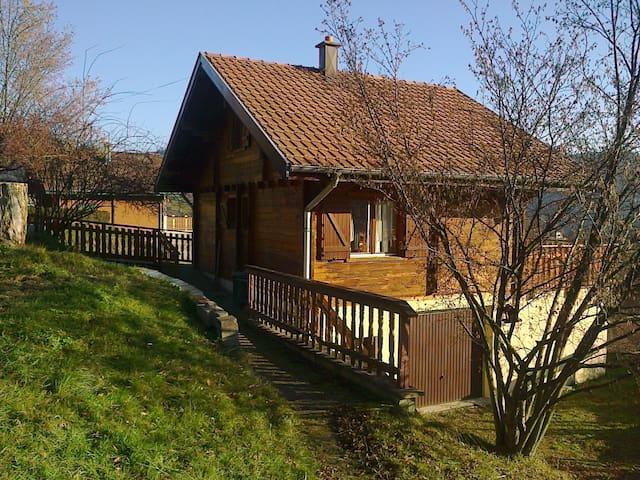 Chalet familial dans les montagnes - Geishouse - Lomamökki