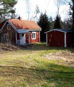 Schönes Haus in Småland  im  Wald