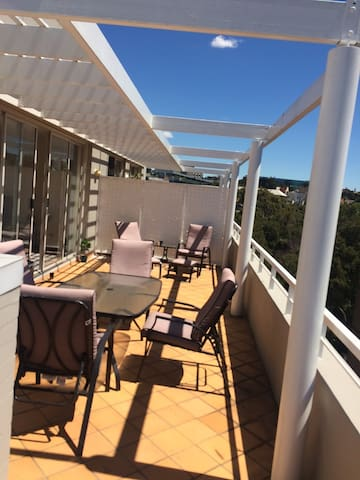 1 bedroom penthouse with a massive balcony - Chippendale
