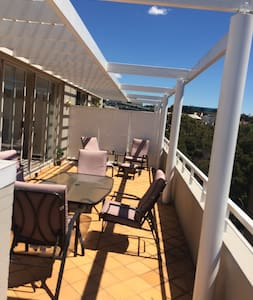1 bedroom penthouse with a massive balcony - Chippendale - Daire