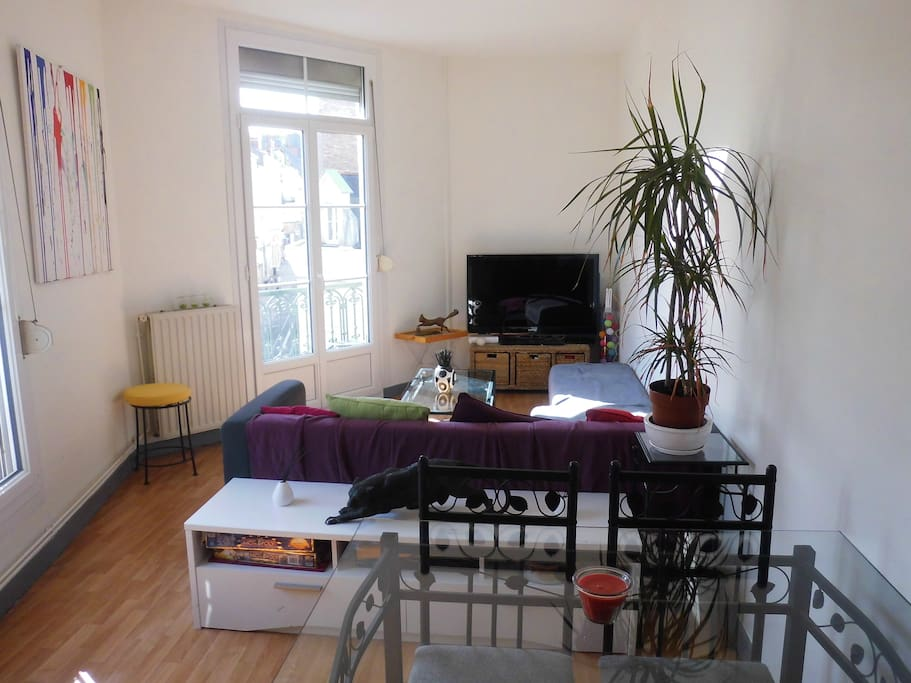 T2 de 46m2 hyper centre d 39 angers apartments for rent in for Home salon angers