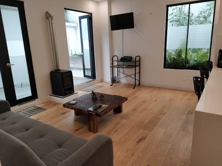 Apartamento con terraza, 2 hab. , La Candelaria