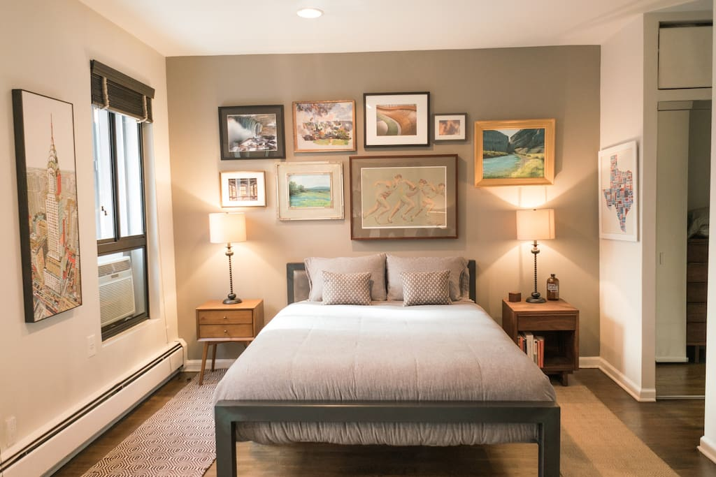 Roomy designer alcove studio apt apartments for rent in for Alcove studio