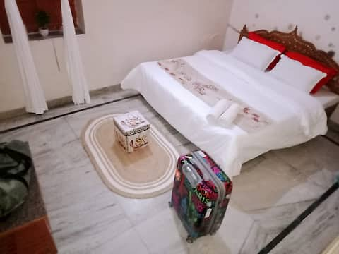 Deluxe Double  Room Non AC with Private Bathroom
