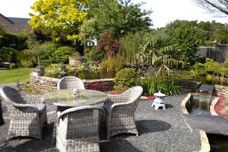 Maison Familial avec jardin et etang exeptionnel - Amay - Hus