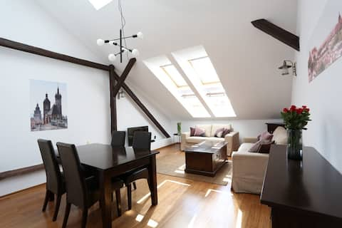 Attic Two Bedroom Apartment