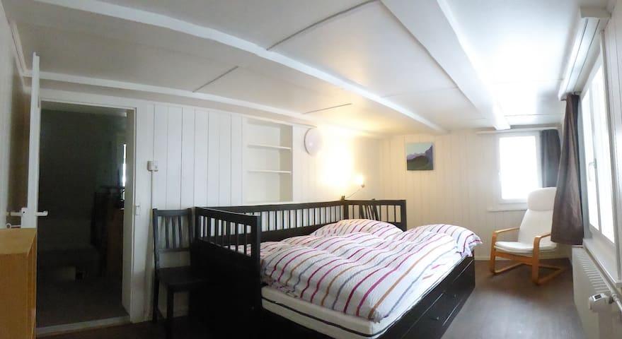 Zweites Zimmer bei Bedarf, gleiche Etage.