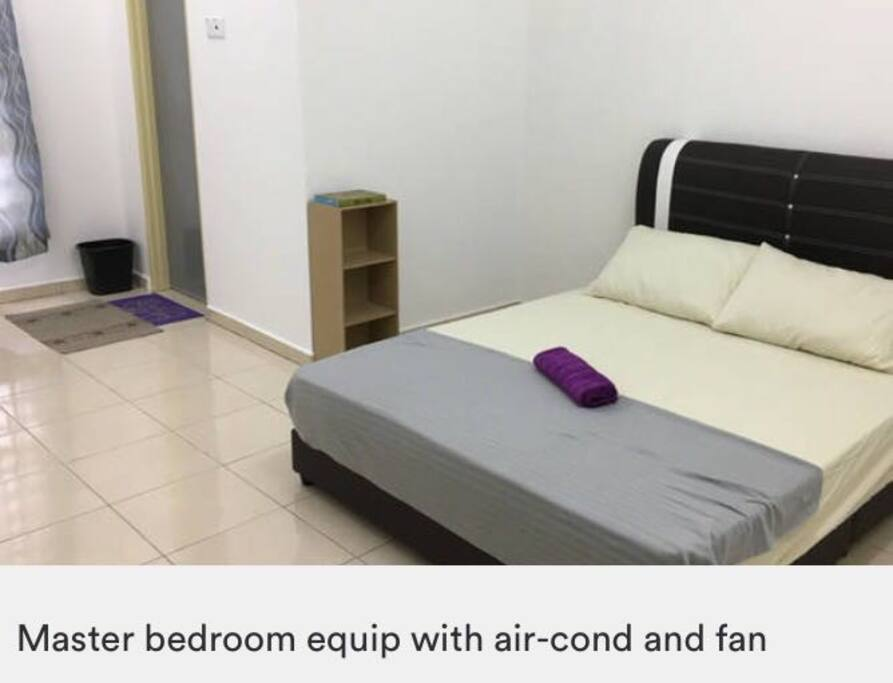 Air cond equiped